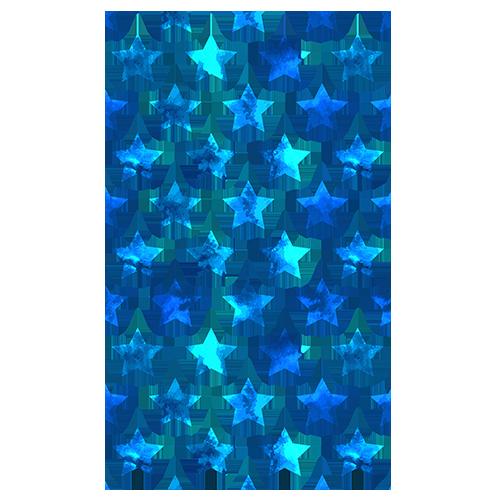 Blue Stars Pattern