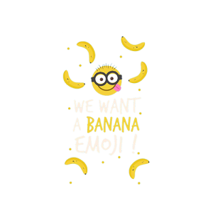 Minion want Banana