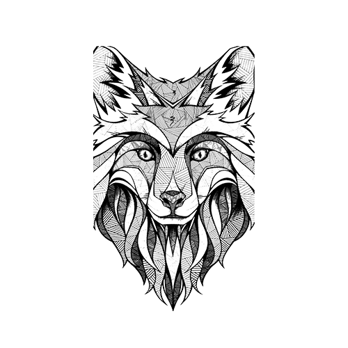 wolf-black-and-white-500x500