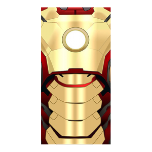 ironman suit gold