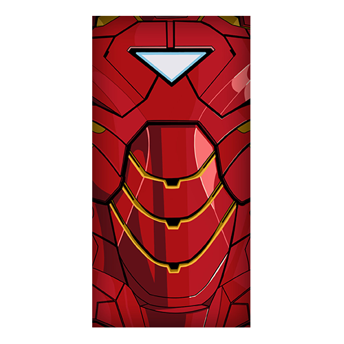 ironman suit red
