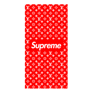 supreme x louis case red