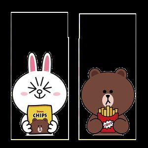 กระต่ายกับหมี-กินมันฝรั่งทอด