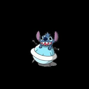 Stitch กอดลูกบอล