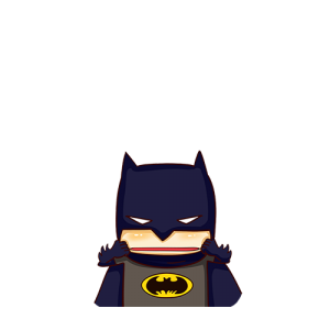 Bat Man ดึงแก้ม