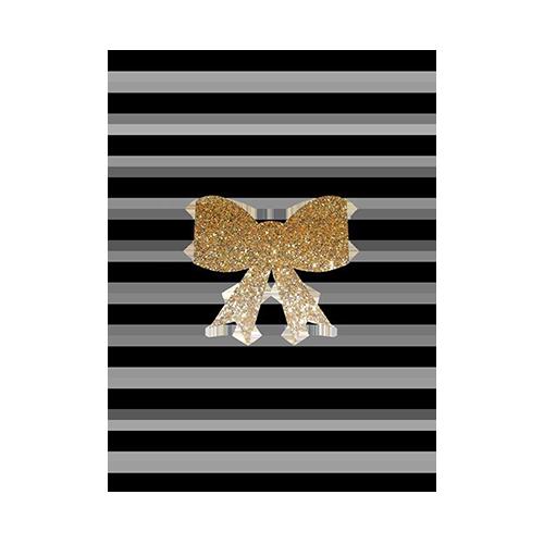 Gold Ribbon เส้นสีดำ