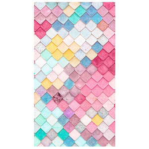 Multicolored tiles