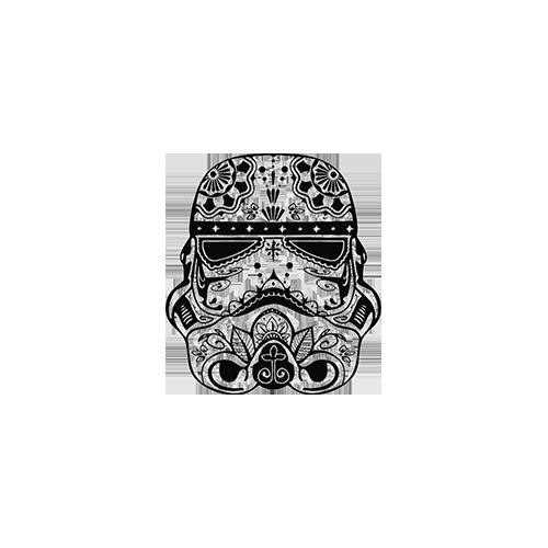 Stormtrooper Mexican Skull