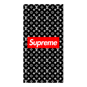 supreme x louis case black