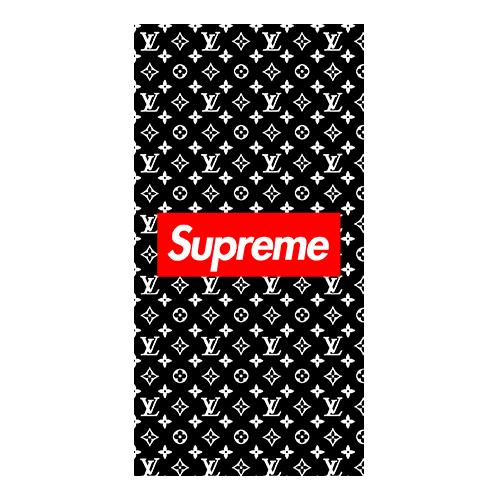 supreme x louis case black