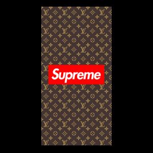 supreme x louis case brown