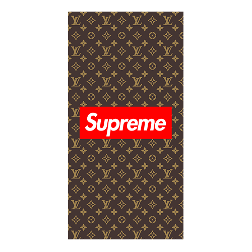 supreme x louis case brown