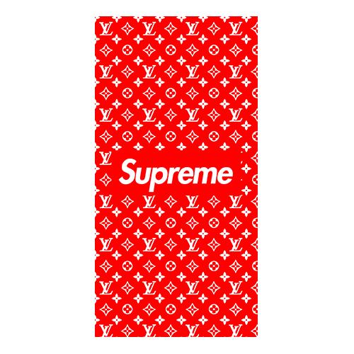supreme x louis case red